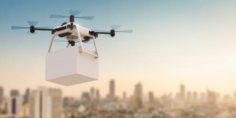 future drone delivery service