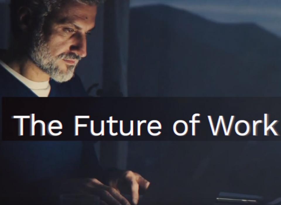 Future of work - Man and machine