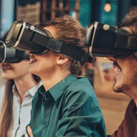 Virtual Reality op kantoor